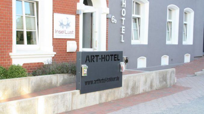 Arthotel Bakker auf Borkum