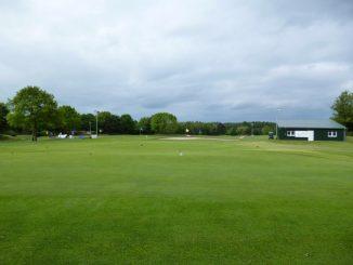 Golfplatz an der Nordsee
