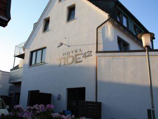 Hotel Tide42 Borkum von außen