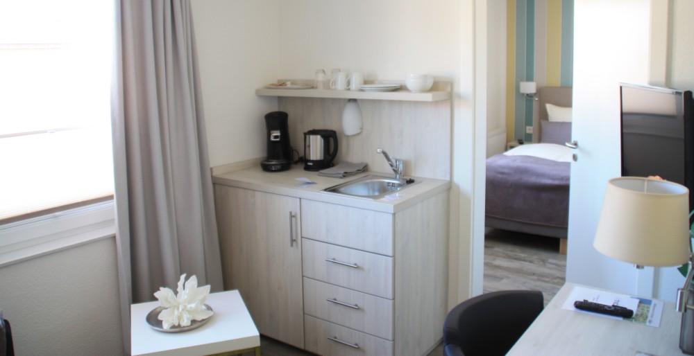 Zimmer im Tide42 auf Borkum - Hotel Borkum